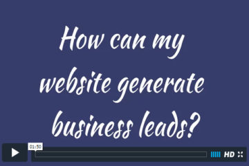 How can my website generate business leads?